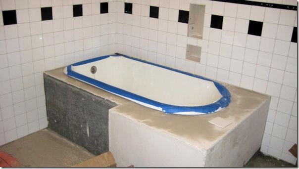 bathtub tiles