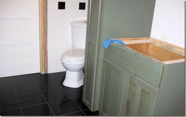 toilet floor