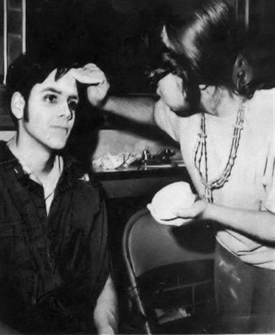 steven in makeup 1984