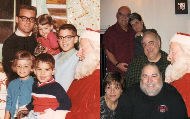 xmas then and now 2011