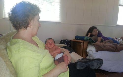 With the grandmas