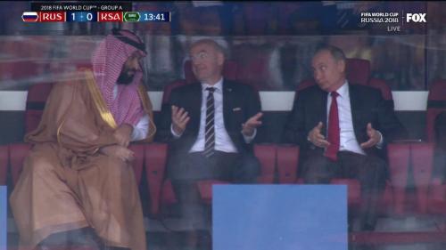 Putin world cup match 1