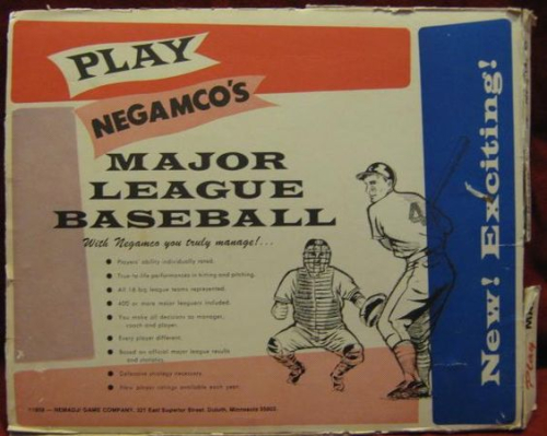 Negamco baseball box