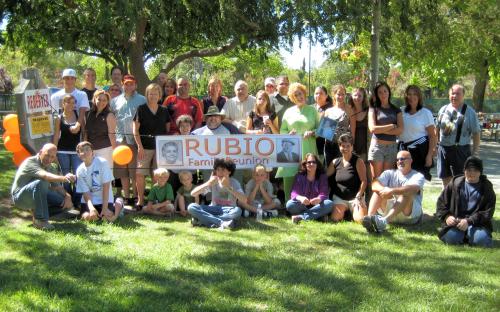 Rubio family reunion